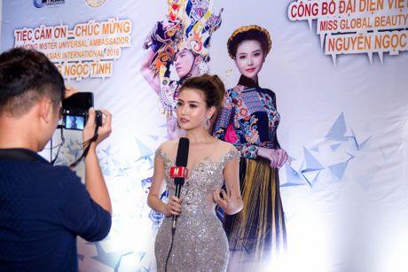 Ngoc Duyen tham du cuoc thi Nu hoang Sac dep Toan cau 2016 - Anh 3