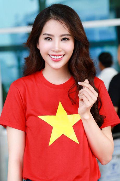 Hoa khoi Nam Em da chinh thuc len duong den Philippines, dai dien Viet Nam thi Miss Earth - Anh 1