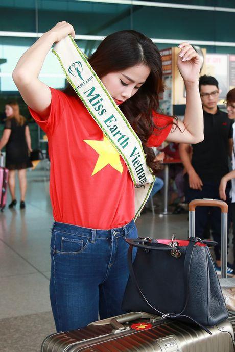 Hoa khoi Nam Em da chinh thuc len duong den Philippines, dai dien Viet Nam thi Miss Earth - Anh 2