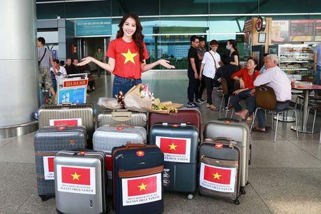Hoa khoi Nam Em da chinh thuc len duong den Philippines, dai dien Viet Nam thi Miss Earth - Anh 4