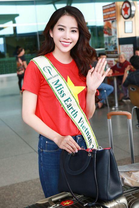 Hoa khoi Nam Em da chinh thuc len duong den Philippines, dai dien Viet Nam thi Miss Earth - Anh 5