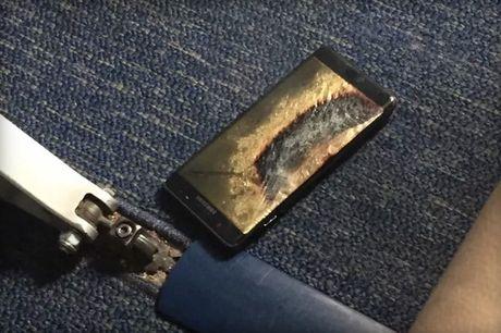 Hoan chuyen bay do Samsung Galaxy Note7 ban 'an toan' tu dung boc khoi - Anh 1