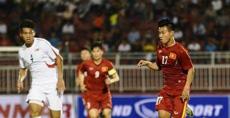 TRUC TIEP Viet Nam 1-1 Trieu Tien (H1): Tuan Anh go hoa - Anh 1