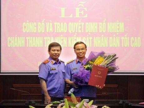 Thu ki ong Nguyen Ba Thanh lam Chanh Thanh tra VKSNDTC - Anh 1