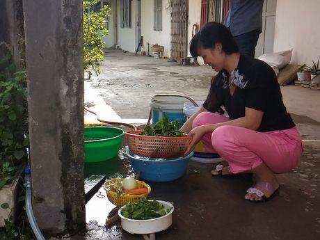 Hang tram ho dan 'khat' nuoc sach ngay giua thu do - Anh 2