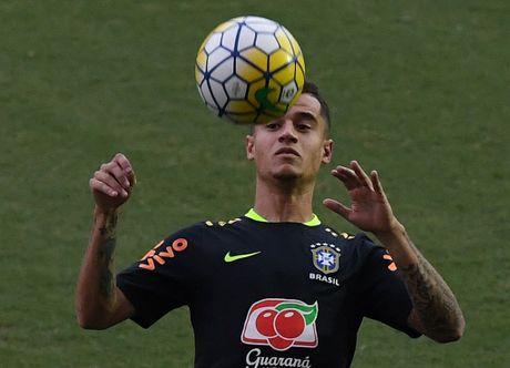 Neymar va dong doi thi nhau bieu dien ky thuat - Anh 6