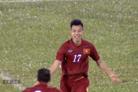 Xuan Truong chuyen dep cho Van Thanh ghi ban - Anh 1