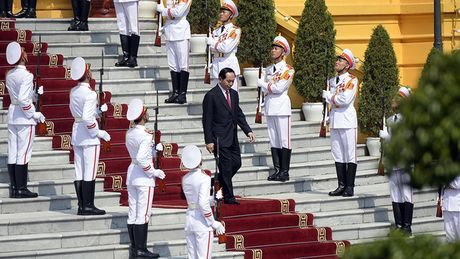 Tong thong Iran tham chinh thuc Viet Nam - Anh 2