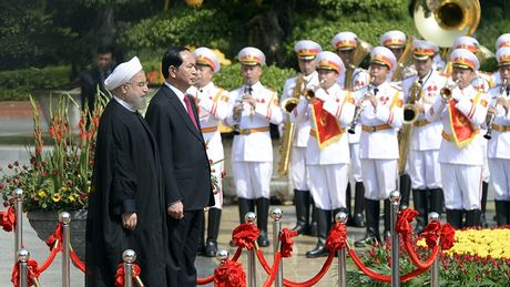 Tong thong Iran tham chinh thuc Viet Nam - Anh 4