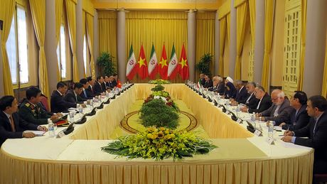 Tong thong Iran tham chinh thuc Viet Nam - Anh 7