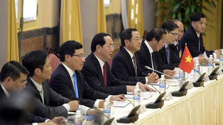 Tong thong Iran tham chinh thuc Viet Nam - Anh 8