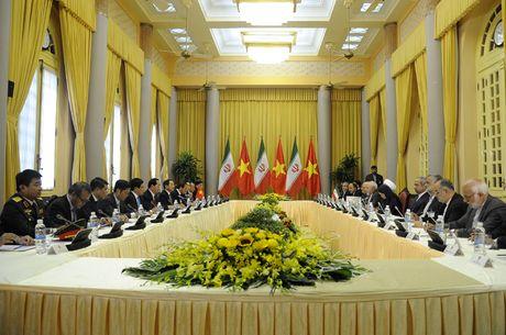 Hinh anh le don Tong thong Iran tham chinh thuc Viet Nam - Anh 10