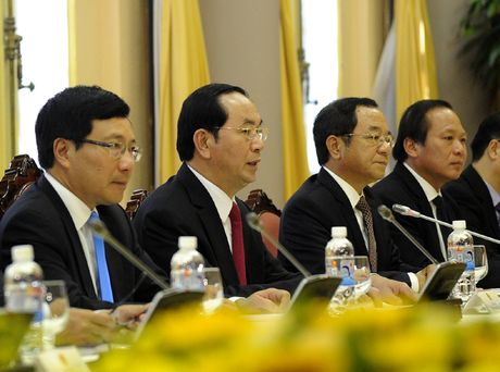 Hinh anh le don Tong thong Iran tham chinh thuc Viet Nam - Anh 11