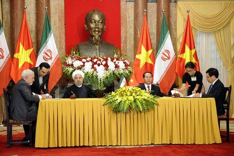 Hinh anh le don Tong thong Iran tham chinh thuc Viet Nam - Anh 13