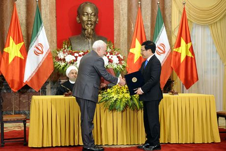 Hinh anh le don Tong thong Iran tham chinh thuc Viet Nam - Anh 14