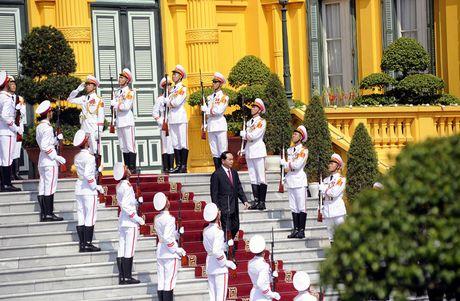 Hinh anh le don Tong thong Iran tham chinh thuc Viet Nam - Anh 3