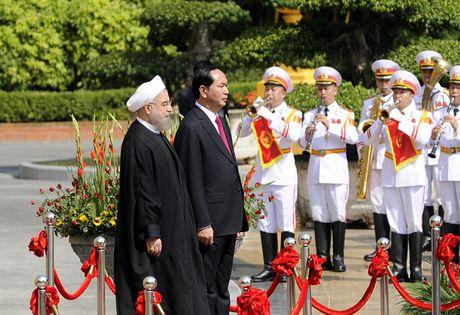 Hinh anh le don Tong thong Iran tham chinh thuc Viet Nam - Anh 5