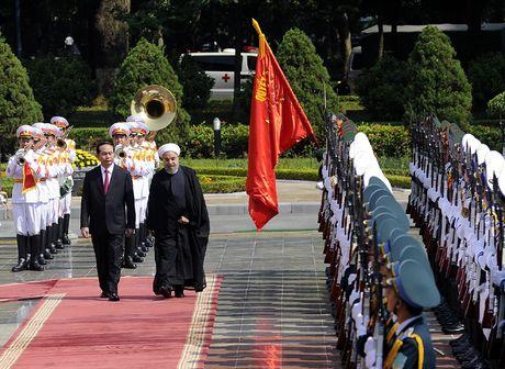 Hinh anh le don Tong thong Iran tham chinh thuc Viet Nam - Anh 6