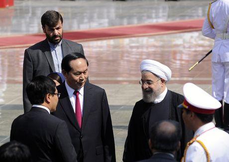 Hinh anh le don Tong thong Iran tham chinh thuc Viet Nam - Anh 8
