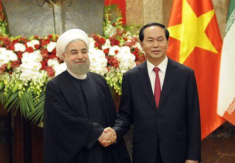 Hinh anh le don Tong thong Iran tham chinh thuc Viet Nam - Anh 9