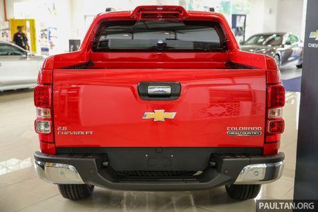 Chevrolet Colorado 2016 ban nang cap lo dien - Anh 5