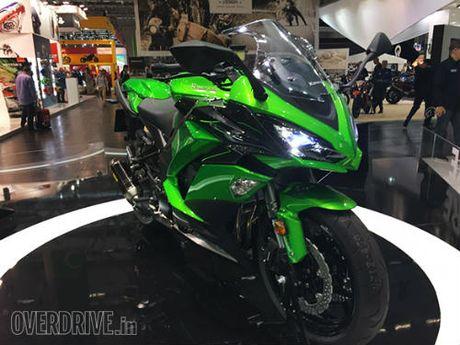 Ngam 'hang khung' 2017 Kawasaki Z1000SX tai Intermot 2016 - Anh 2