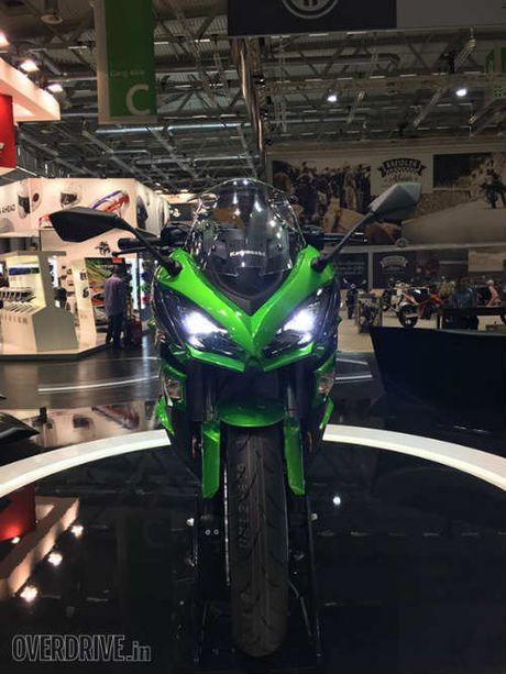 Ngam 'hang khung' 2017 Kawasaki Z1000SX tai Intermot 2016 - Anh 4
