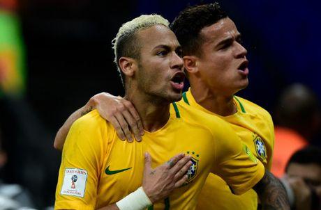 Neymar va cap song sat Liverpool lap cong, Brazil dai thang Bolivia - Anh 1