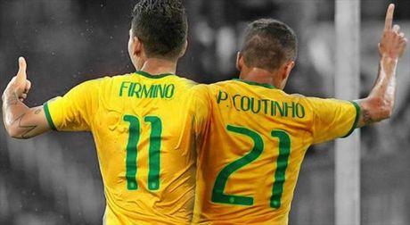 Neymar va cap song sat Liverpool lap cong, Brazil dai thang Bolivia - Anh 4