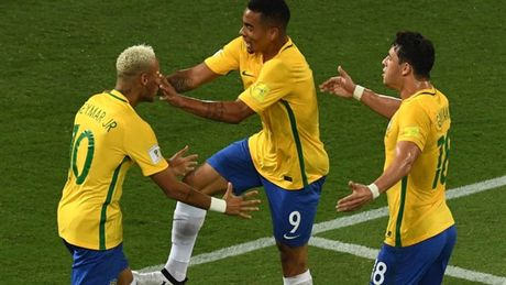 Chum anh: Neymar chay mau lenh lang trong chien thang '5 sao' cua Brazil - Anh 6