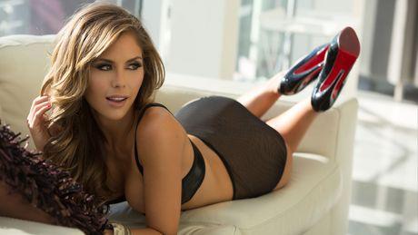 Top 20 nang Ring-girl sexy nhat the gioi (Ki 17): Brittney Palmer - Anh 1
