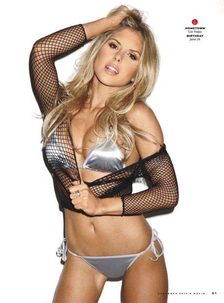 Top 20 nang Ring-girl sexy nhat the gioi (Ki 17): Brittney Palmer - Anh 5