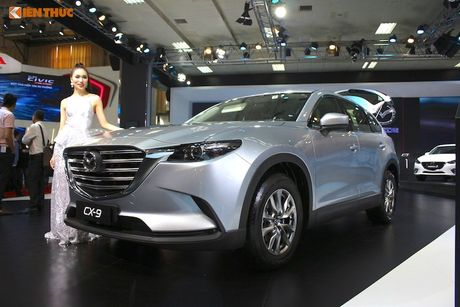 Can canh 'hang nong' Mazda CX-9 2017 dau tien o VN - Anh 1