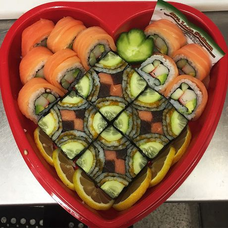"Thich thu truoc nghe thuat ""lam dep"" cho sushi - Anh 10"