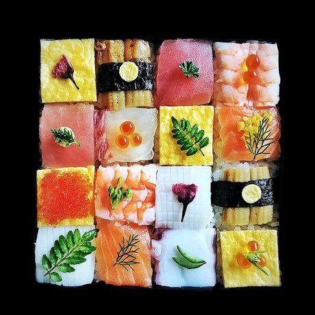 "Thich thu truoc nghe thuat ""lam dep"" cho sushi - Anh 14"