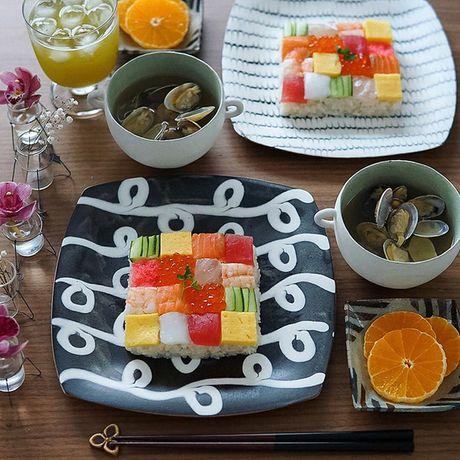 "Thich thu truoc nghe thuat ""lam dep"" cho sushi - Anh 4"