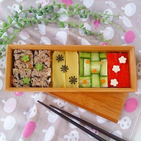 "Thich thu truoc nghe thuat ""lam dep"" cho sushi - Anh 5"