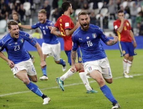 Italia 1-1 Tay Ban Nha: Buffon mac sai lam, Italia hoa may man - Anh 2