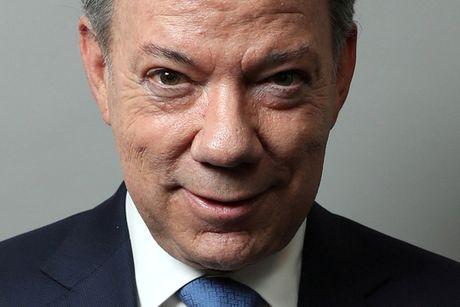 Nobel Hoa binh thuoc ve tong thong Colombia - Anh 2