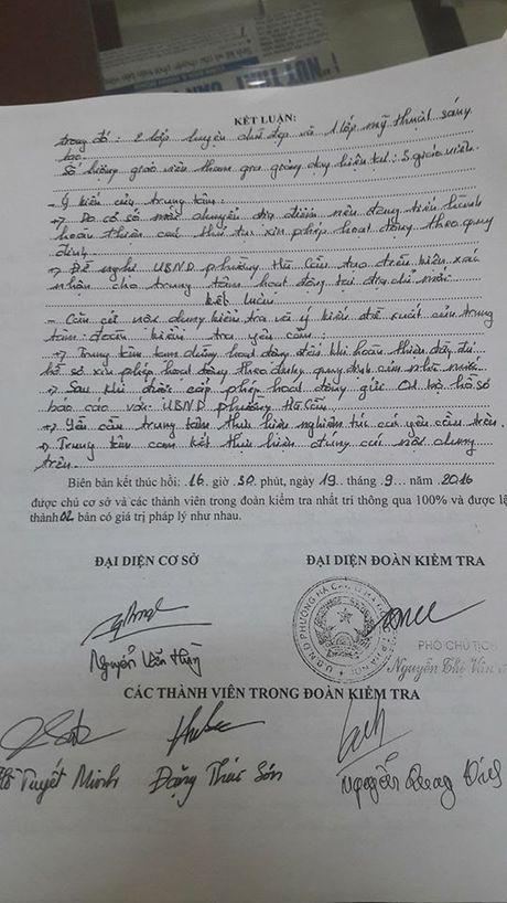 Ha Noi: Tuyen sinh trai phep, phot lo lenh cam - Anh 2
