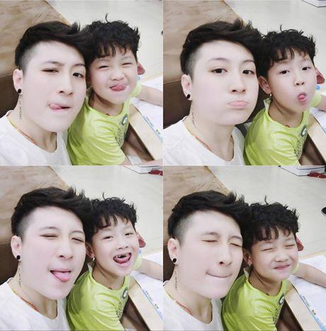 MC VTV xinh dep tiet lo cach nguoi tinh dong tinh day do con trai minh - Anh 8