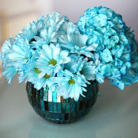 Bi quyet nhuom mau cho hoa cuc trang cuc nhanh - Anh 10