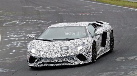 "Lo dien phien ban nang cap cua ""sieu bo"" Lamborghini Aventador - Anh 1"
