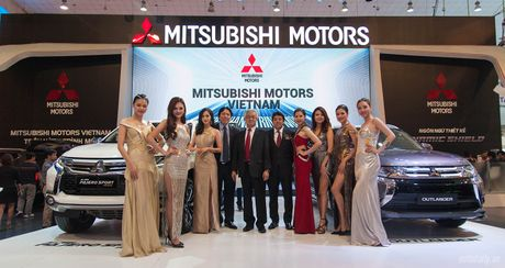 Mitsubishi va buoc chuyen minh manh me tai Trien lam Oto Viet Nam 2016 - Anh 1