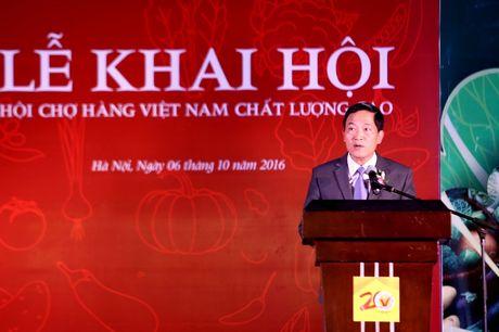 Ha Noi: Khai mac Hoi cho hang Viet Nam chat luong cao Thuc pham - Nong san sach 2016 - Anh 1