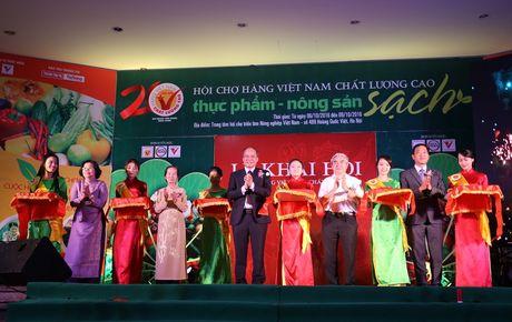 Ha Noi: Khai mac Hoi cho hang Viet Nam chat luong cao Thuc pham - Nong san sach 2016 - Anh 2