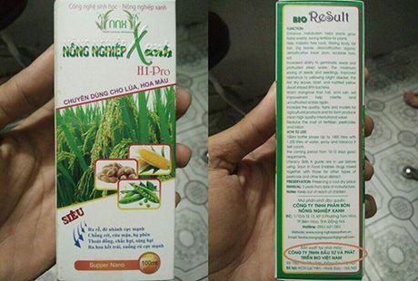 Truy tim cong ty 'ma' san xuat phan bon Nong nghiep Xanh H1-Pro - Anh 1