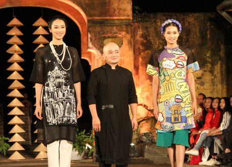 Ngoc Han gay chu y voi BST moi tai Festival Ao dai Ha Noi 2016 - Anh 11