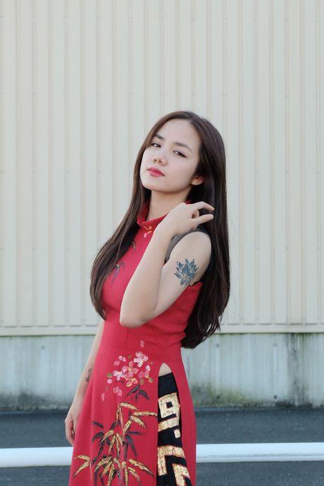 Em gai Phuong Linh ca tinh voi ao dai cach dieu - Anh 7
