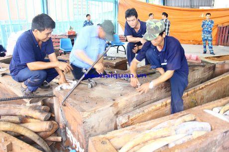 Can canh lo hang hon 2 tan nga voi nhap lau bi bat giu tai cang Cat Lai - Anh 4